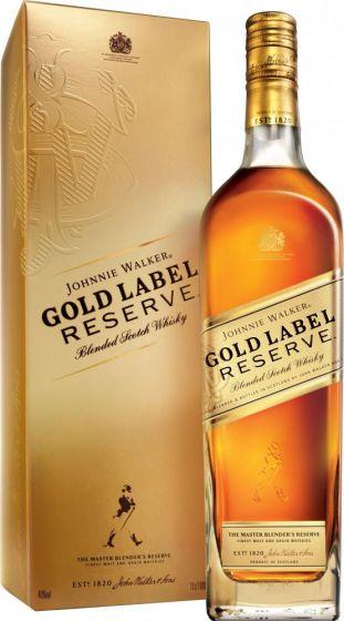Johnnie Walker Gold Label Reserve Whisky fles 70cl in Giflbox
