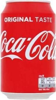 Original Coca-cola NL blik 330ml