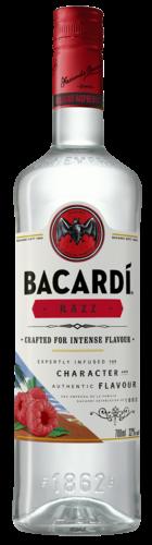 Bacardi Razz Rum Fles 1 Liter goedkoop bacardi