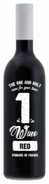 1wine Rouge Merlot Wijn Fles 750ml