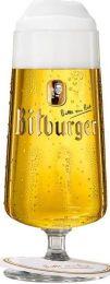 Bitburger-voetglas