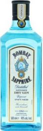 Bombay Sapphire Gin fles 50cl