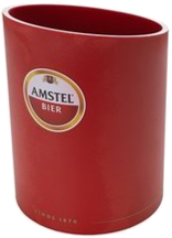 Amstel bierspatel houder bier afschuimer emmertje