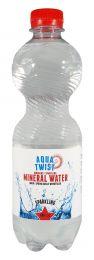 Mineraalwater met koolzuur 12x50cl
