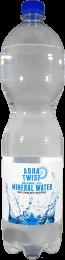 Aqua twist Mineraalwater 6x1500ml PET fles