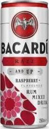 Bacardi Razz en 7up Pre-mix Blik 250ml