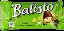 Balisto Muesli reep chocolade noten en rozijnen Doos 20x37Gram