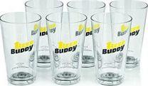 Beer Buddy Glazen set 6 stuks