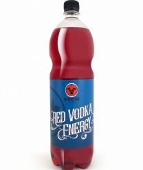 Boostir Red Vodka Energy Mixdrank fles 1,5 L