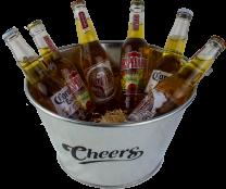 Cheers Bierbucket 6x33cl Desperados, Corona, Sol bier