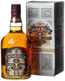 Chivas Regal 12 Whisky Fles 1 Liter