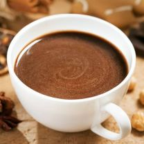 Warme chocomelk voordelig cacaopoeder zak 1 kg