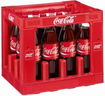 Coca Cola Krat 12x 1 Liter Horeca PET fles