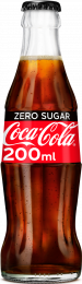 Coca Cola ZERO SUGAR Krat 24x200ml Glas