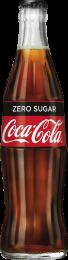 Coca Cola ZERO Contour flesjes 24x33cl