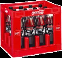 Coca Cola ZERO Krat 12 x 1 Liter