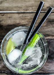 Bio Cocktail rietjes doos 250 stuks