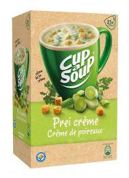 Cup a soup prei/creme soep Doos 21 zakjes x 175 ml soep