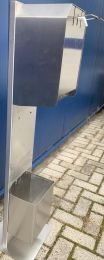RVS Desinfectiezuil 120cm