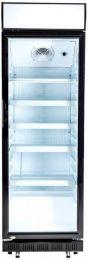 Horeca glasdeur koeling met LED Bovenlicht 194x62x64cm