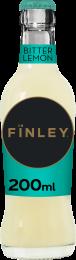 Finley Bitter Lemon Krat 24x200ml Glas
