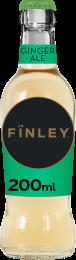 Finley Ginger Ale Krat 24x200ml Glas