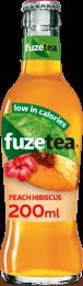 Fuze Tea Peach Hibiscus Krat 24x200ml Glas