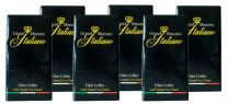 Koffie Arabica Snelfiltermaling Pak 6x500Gr