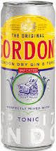 Gordon,s Gin Tonic Blik 250ml
