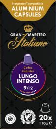Gran Maestro Italiano Lungo Intenso Nespresso 20 Alu cups