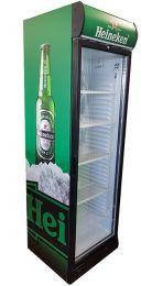 Heineken Koelkast 382 liter glasdeur