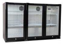 Horeca glasdeur koeling 3 deurs