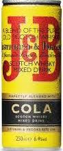 J&B Whisky cola blik 250ml