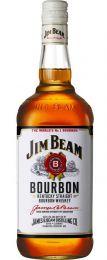 Jim Beam Bourbon Whisky fles 1 liter