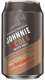 Johnnie Walker & Cola mixdrank blik tray 12x33 cl 5%