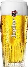 Jupiler Bierglas Ribbel 250ml stapelbaar