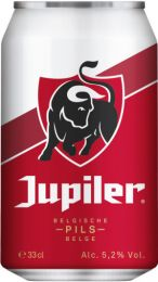 Jupiler Belgisch bier blik 33cl