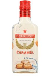Karamel vodka zakfles 200ml