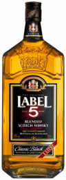 Label 5 Whisky Fles 1 Liter