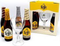 Leffe Bierbox Giftpack + Leffe Bierglas