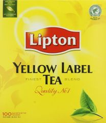 Lipton Yellow Label Tea Doos 100x2Gr