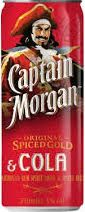 Captain Morgan Cola Blik 250ml