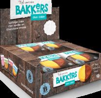 Bakkers Duo cake koeken voor op kantoor