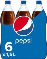 Pepsi Cola PET Voordeelpak 6x1,5L