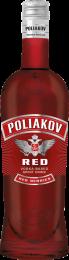 Poliakov Red vodka 70cl