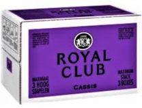 Royal Club Cassis Postmix BIB 10 Liter Vrumona