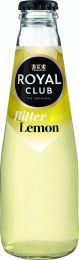 Royal Club bitter lemon Krat 28x20cl Horecaflesjes Glazen Flesjes Frisdrank