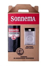 Sonnema Geschenkverpakking 1 liter met RVS zakflacon.