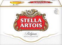 Stella Artois bier in Oneway doos 24x33cl