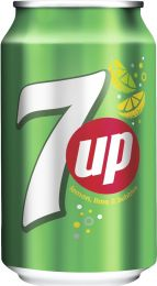 7up Regular NL Blik tray 24x330 ml